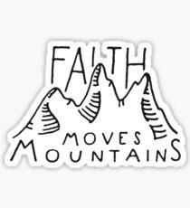 Faith Quote Sticker