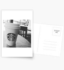 Starbucks in Ctown Postcards