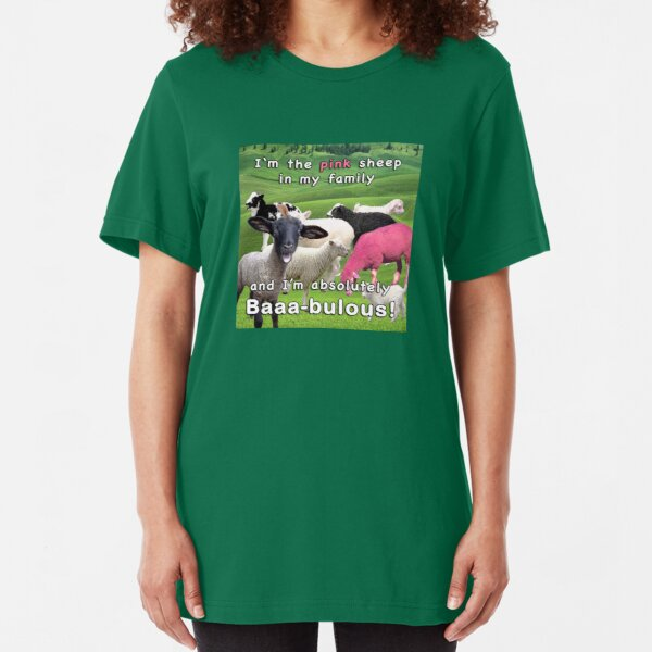 Pink Sheep Slim Fit T-Shirt