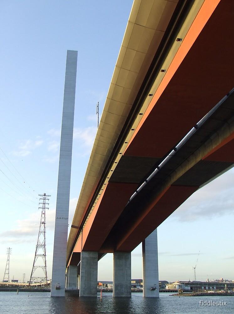 The Bolte Bridge by fiddlestix