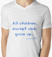 All children except one grow up V-Neck T-Shirt