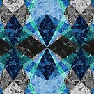 Marble Geometric Background G432 by MEDUSA GraphicART
