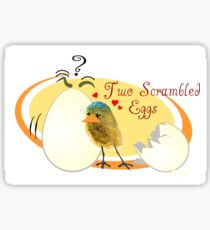 Egg love Sticker