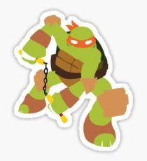 Michelangelo Sticker - Nickelodeon's TMNT Sticker