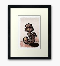Ink Sphinx Framed Print