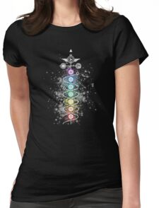 Tantric Kundalini and Chakras Womens Fitted T-Shirt