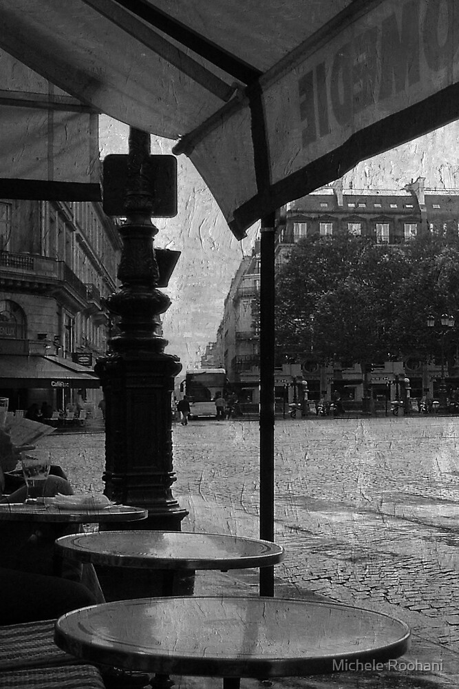 waiting out the rain by Michele Roohani