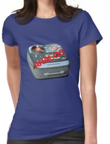 Analog - Reel to Reel Tape - It Just Sounds Better Womens Fitted T-Shirt