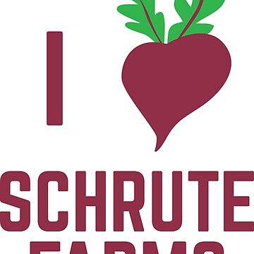 I Love Schrute Farms by yelly123