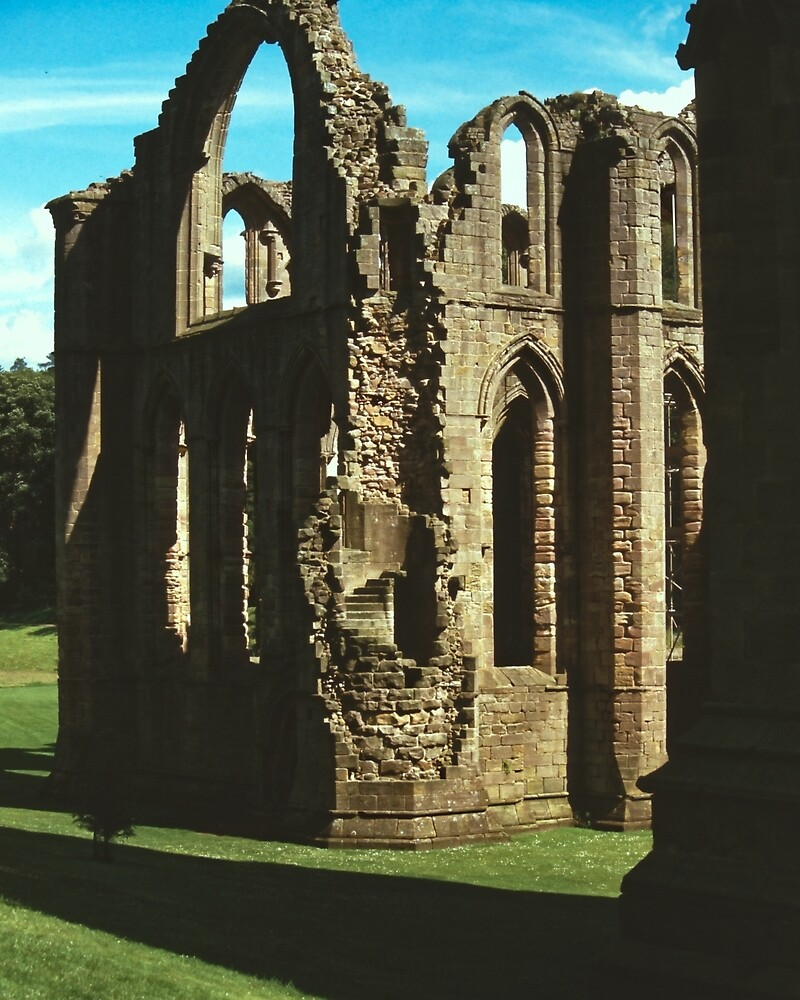 Fountains Abbey3 by Priscilla Turner