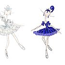 Jewels Stickers by balleteducation