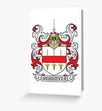 Aberberdour Coat of Arms Greeting Card