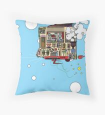 Pilot of a Broken Blimp Throw Pillow