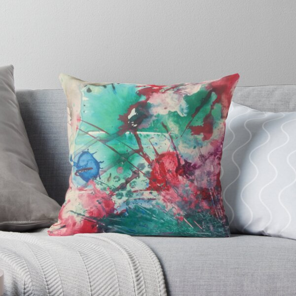 Flavor Garden Throw Pillow