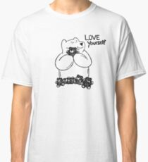 Love Yourself - black lines Classic T-Shirt