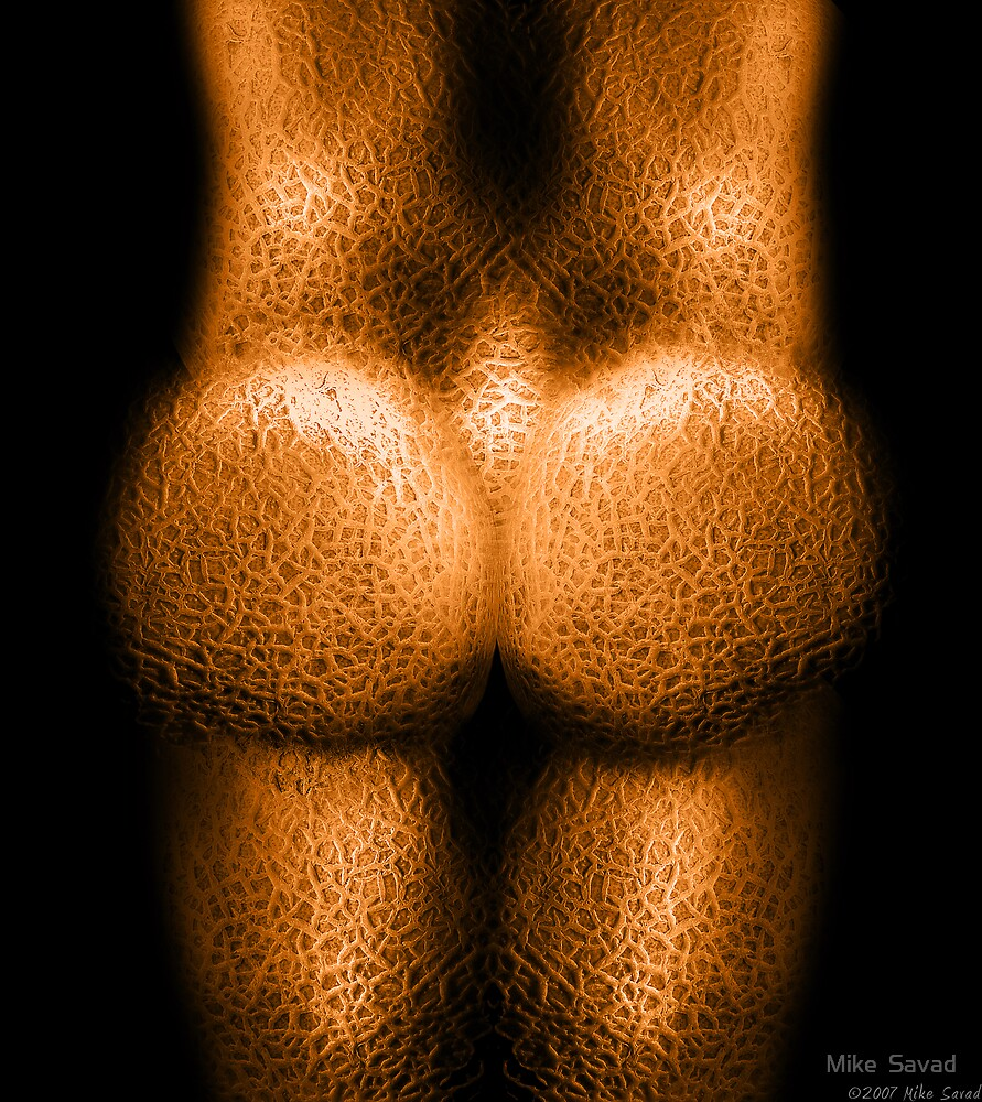 Fleshy Cheeks by Mike  Savad