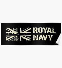 British Royal Navy Poster