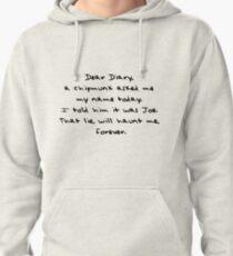 Dear Diary - The Vampire Diaries Pullover Hoodie
