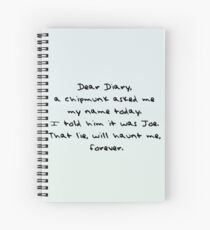 Dear Diary - The Vampire Diaries Spiral Notebook