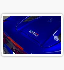 Ferrari 488GTB Italian Flag Sticker