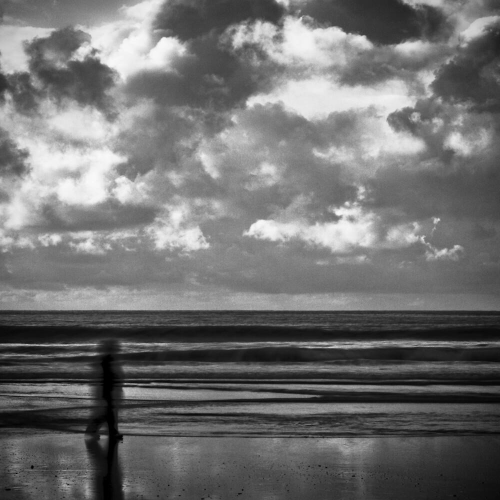 Man on Beach by Michael Mancini
