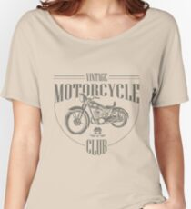 Vintage Motorcycle Club Women's Relaxed Fit T-Shirt