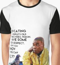 Tracy Jordan: Friend of Pigeons Graphic T-Shirt