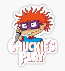 Chuckie's Play Sticker