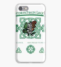 Leprechaun Lager iPhone Case/Skin