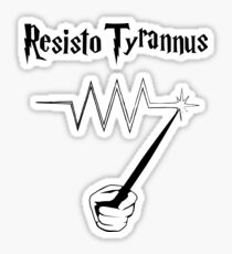 Resisto Tyrannus Sticker