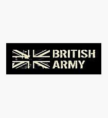 British Army (Black Flag) Photographic Print