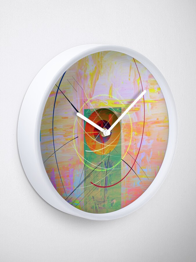 Alternate view of Shapes and Paint Clock