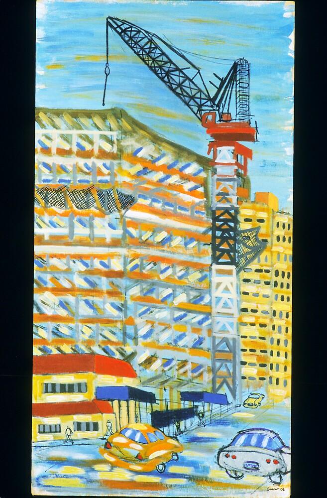The Crane by Enrico Thomas