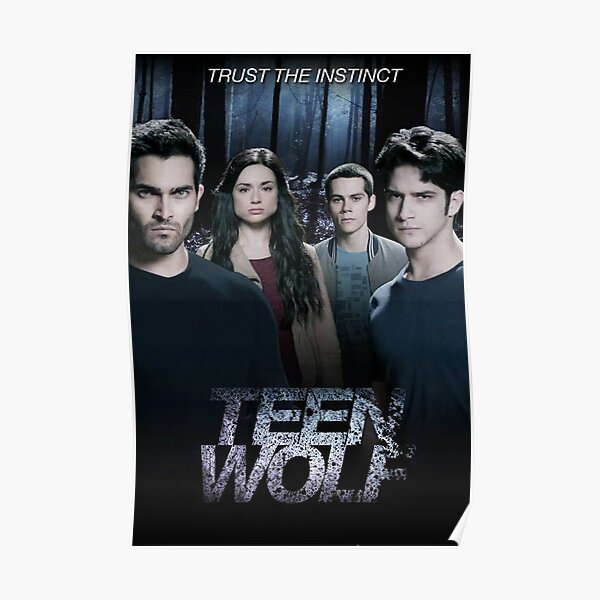 Teen Wolf cast Póster