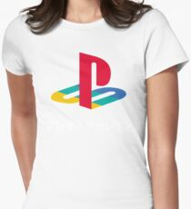 playstation Womens Fitted T-Shirt