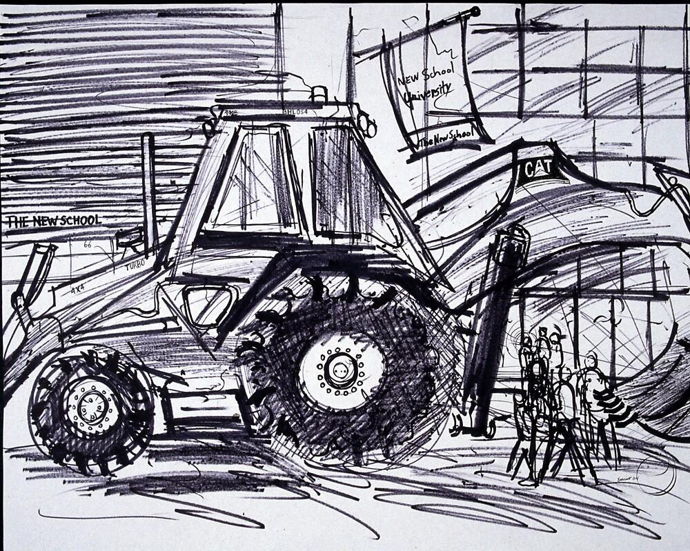 Tractor by Enrico Thomas