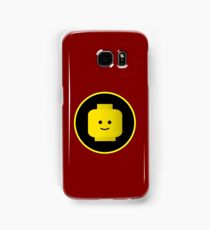 MINIFIG HAPPY FACE Samsung Galaxy Case/Skin