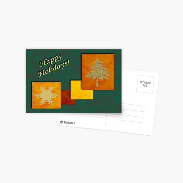 Holiday Accents1 Postcard
