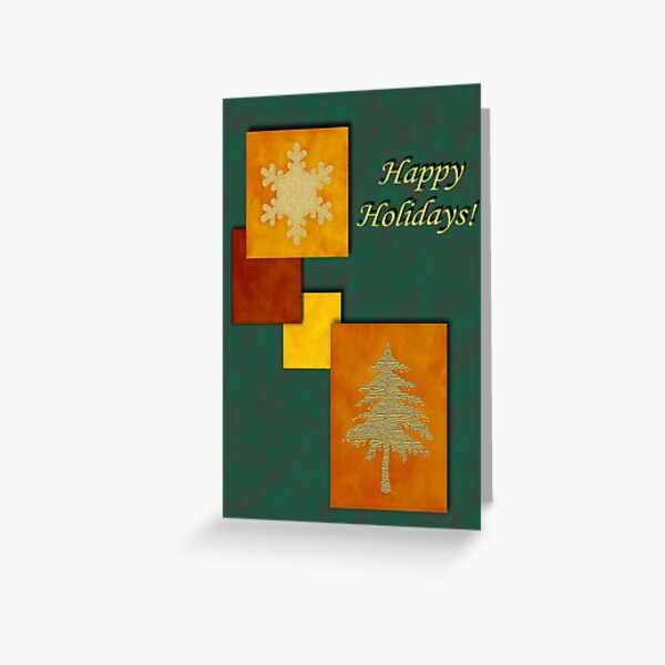 Holiday Accents2 Greeting Card