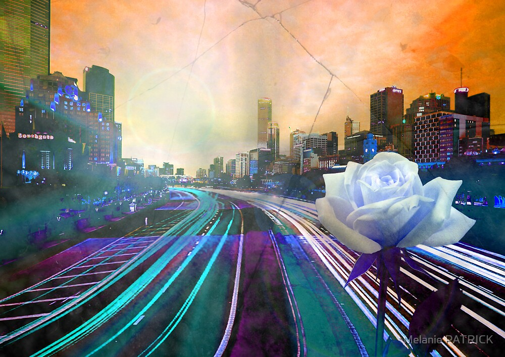 Infinite Future Chaos II by Melanie PATRICK