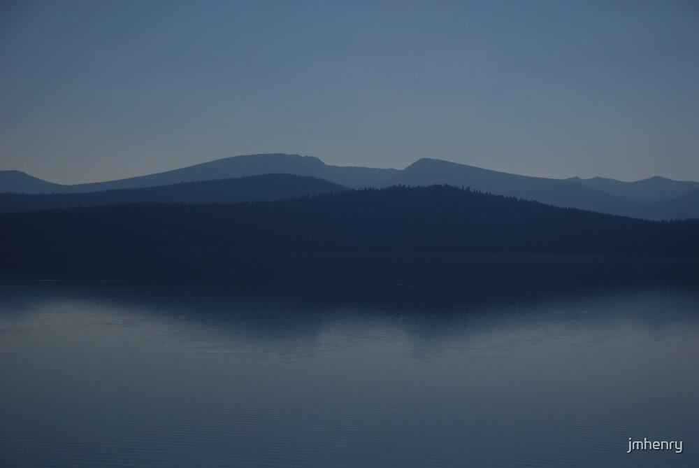 Klamath Lake At Dusk by jmhenry