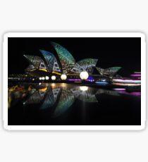 Lizard Of Oz Opera, Vivid Festival, Australia 2014 Sticker