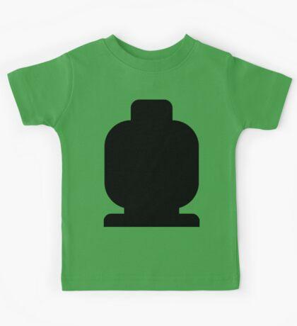 Black Minifig Head  Kids Clothes