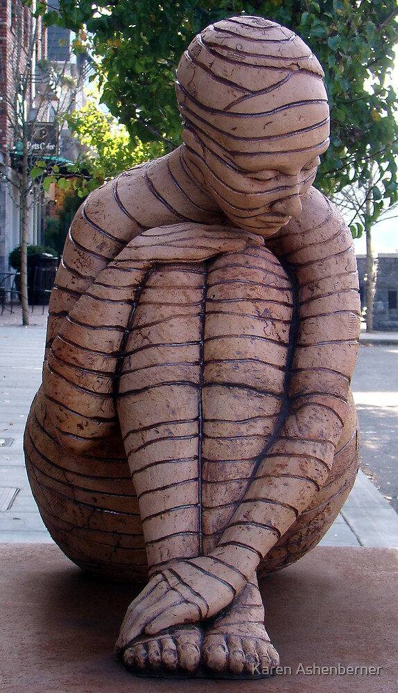 Woman made of Clay by Karen Ashenberner