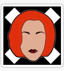 Agent X Sticker