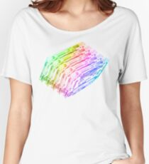 Cassette Tape Rainbow  Women's Relaxed Fit T-Shirt