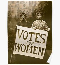 """""""Votes for Women'. Poster"""