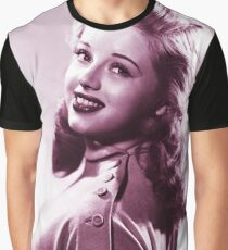 Diana Dors vintage color Graphic T-Shirt