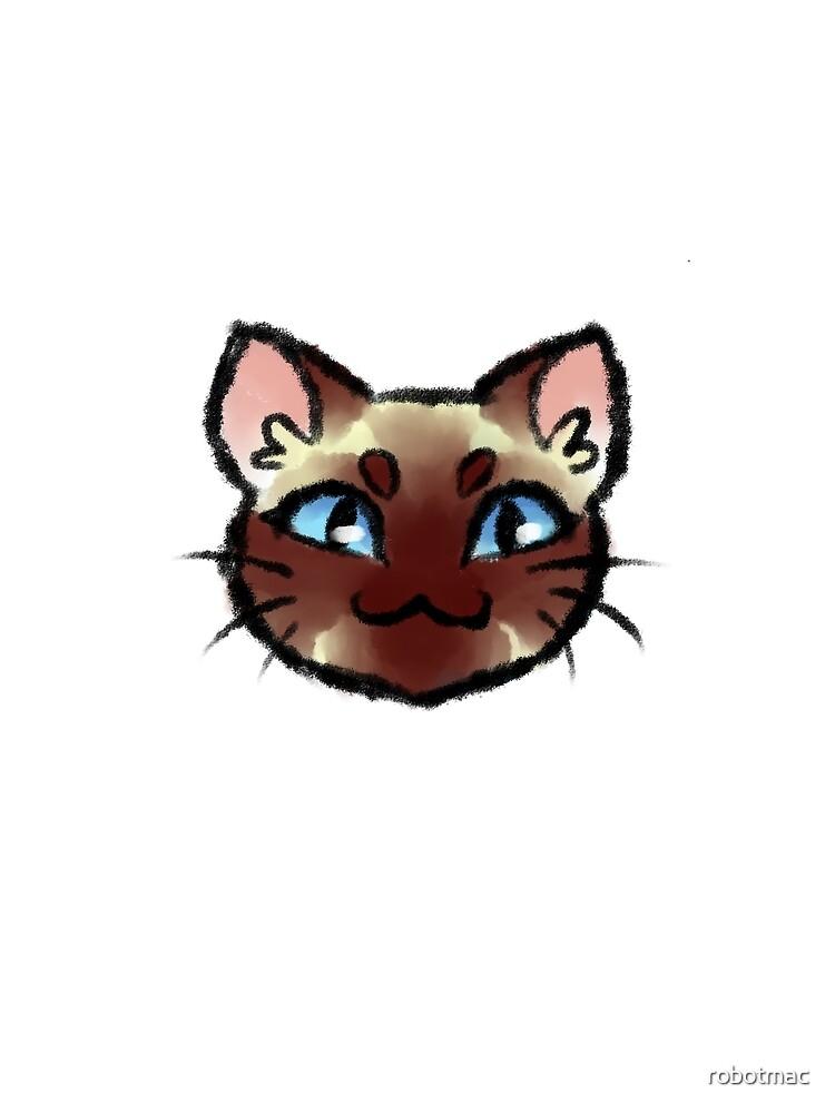 Gato siames de robotmac