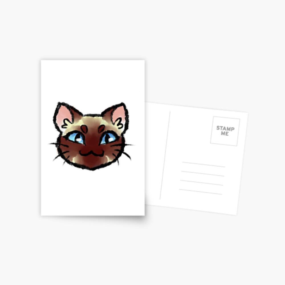 Gato siames Postal